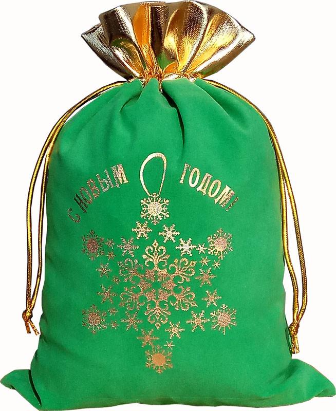 новогодние мешочки из органзы оптом