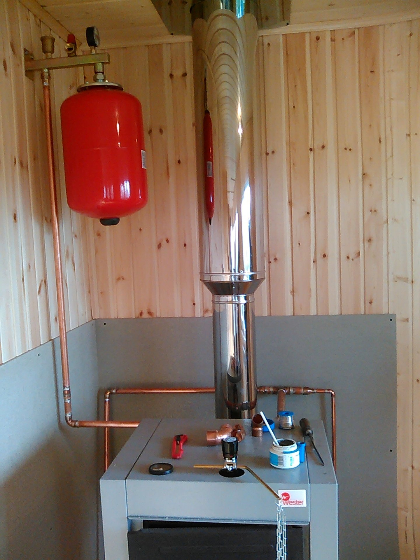 Отопление дачи своими руками печь водяное отопление