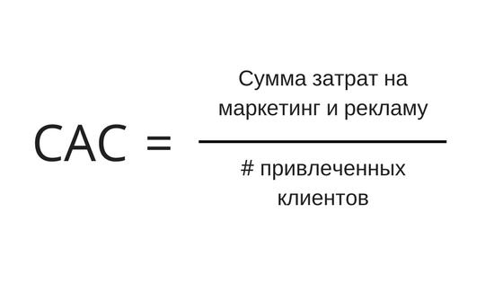 CAC формула